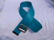 Soft reinforced vinyl Antimicrobial gait belt