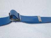 Soft Thick Royal Blue 40 oz. Cleanable Gait Belt